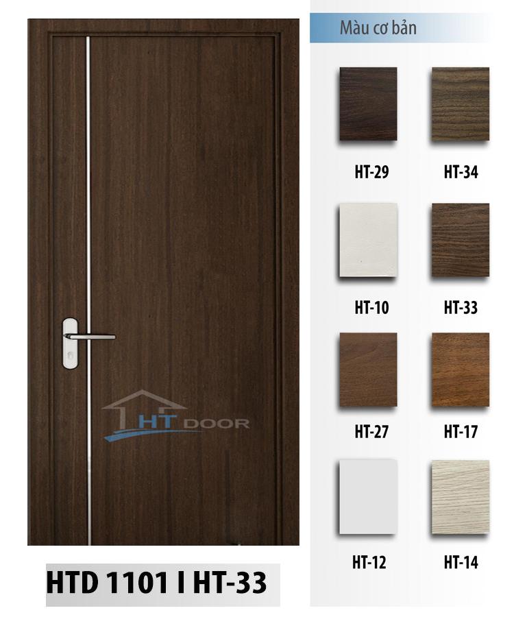 Bảng mã màu cửa nhựa composite HTdoor