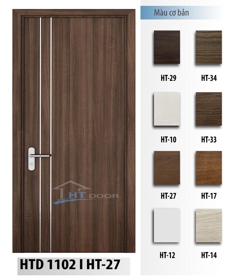 Bảng màu cửa nhựa composite HTdoor HTD 1102
