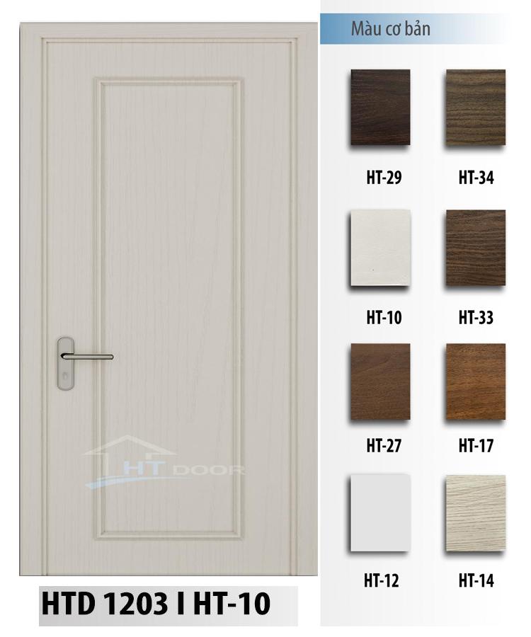 Mẫu cửa nhựa composite phào chỉ trắng HT 1203