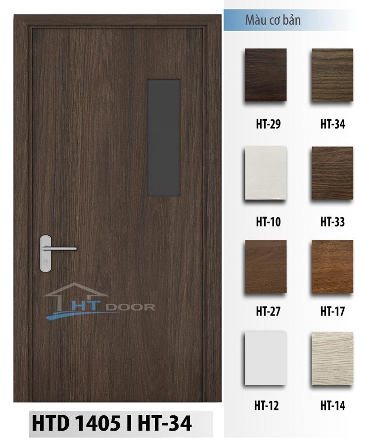 HÌnh ảnh bảng màu cho cửa nhựa composite HTD 1405