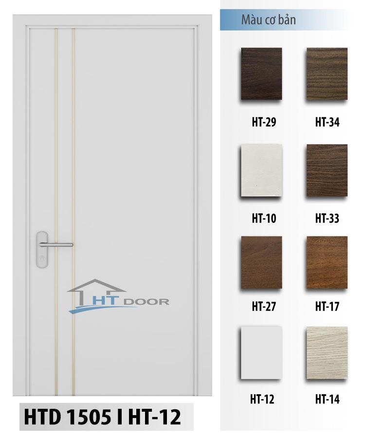 Mã màu trắng cho cửa nhựa sơn men HTD 1505