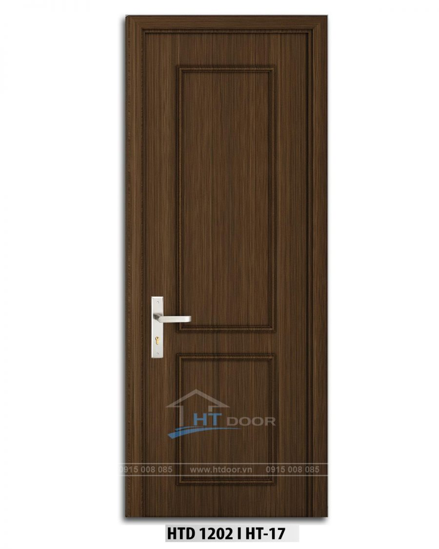 Hình ảnh cửa nhựa composite đắp phào chỉ HTD 1202