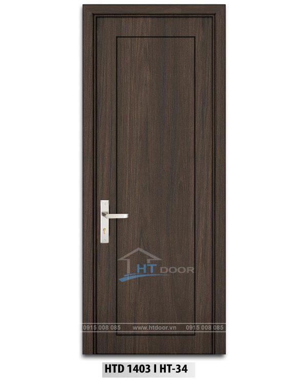 Hình ảnh cửa nhựa composite kẻ chỉ HTD 1403 HT34