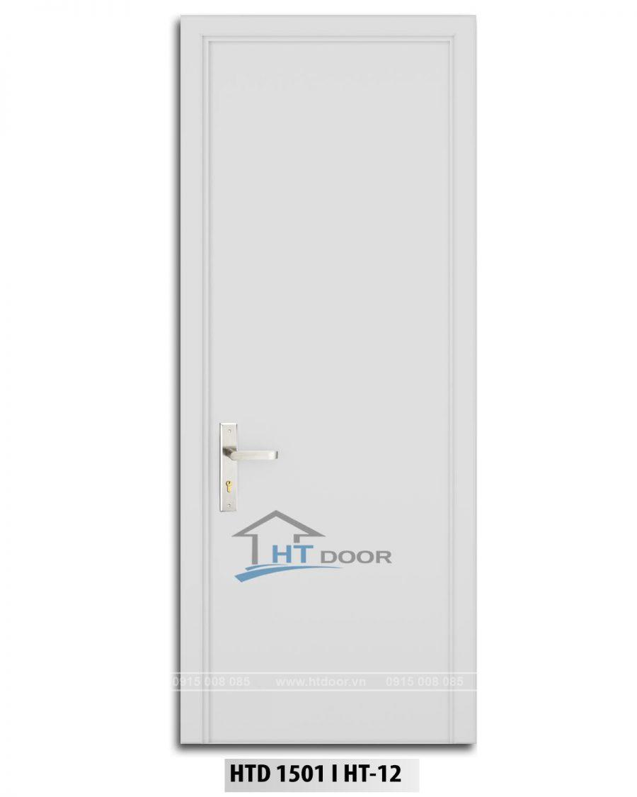 Hình ảnh cửa nhựa composite sơn men trắng HTD 1501