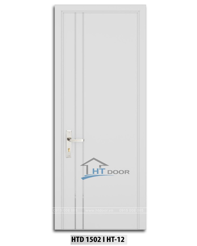 Hình ảnh cửa nhựa composite sơn men mờ HTD 1502 HT12