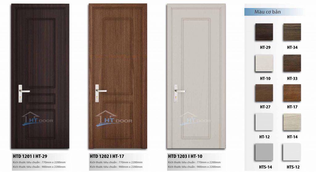 Slide cửa gỗ composite HTdoor 01
