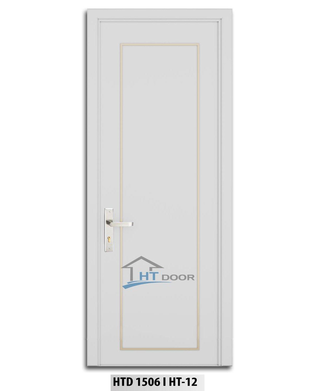 Mẫu cửa composite chỉ nẹp nhôm vàng hình chữ nhật