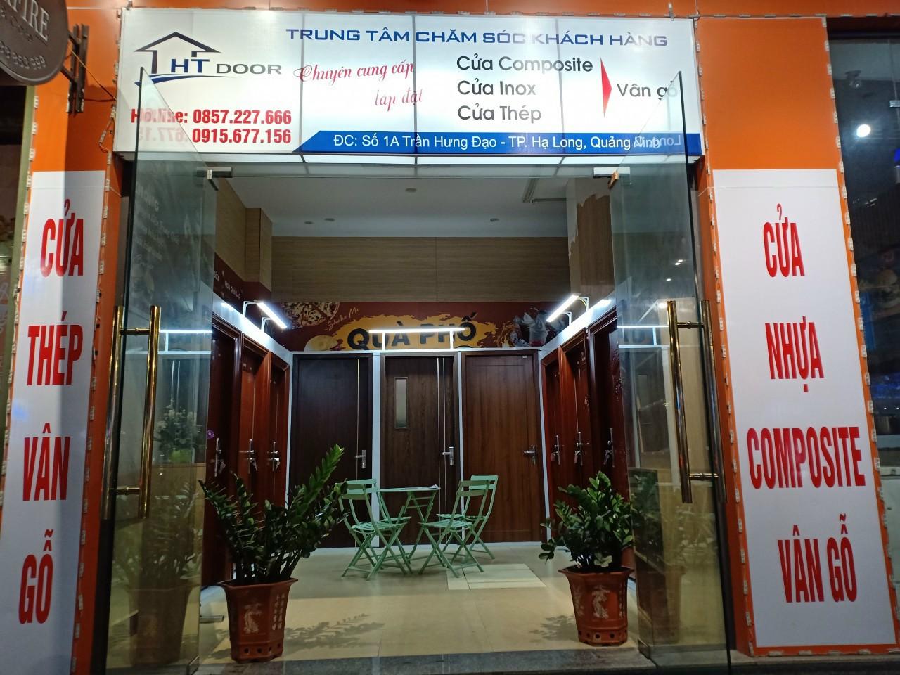 Showroom cửa composite Hạ Long