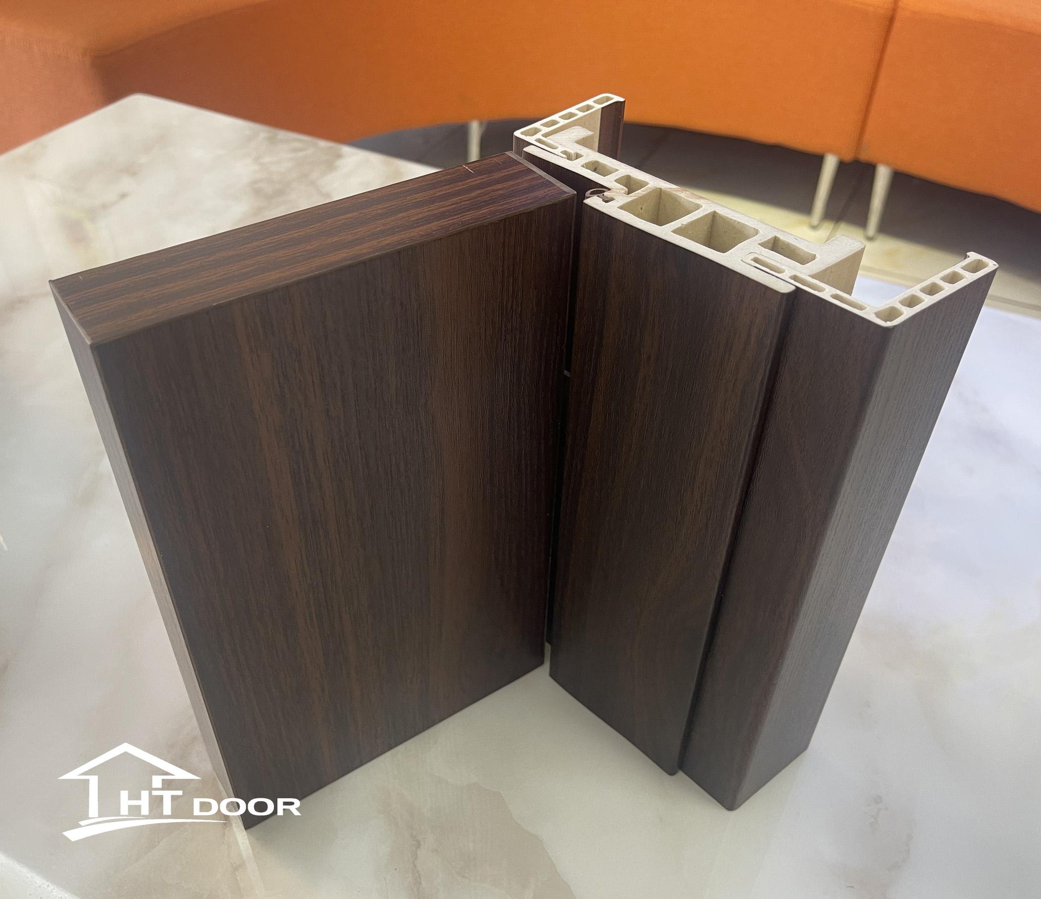 Khuôn mẫu cửa gỗ nhựa composite